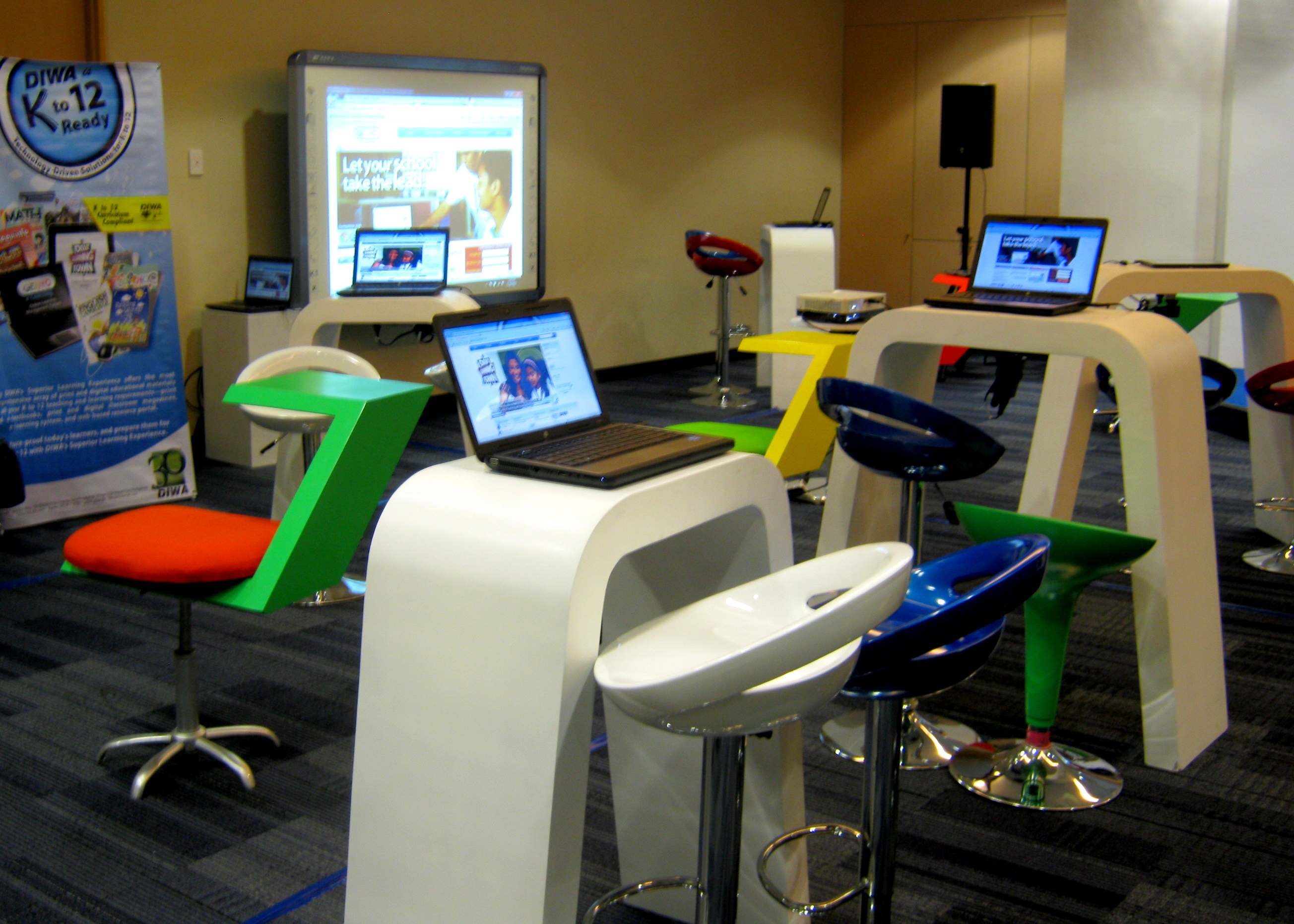 Innovative Ideas For Classroom Teaching ~ Diwa learning systems previews classroom of the future